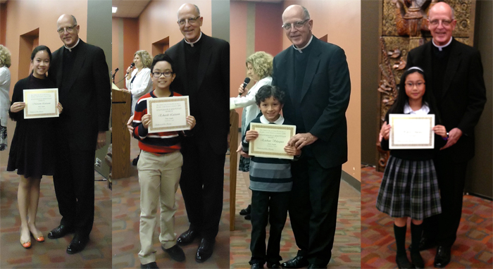 respect life essay contest winners   holy angels school